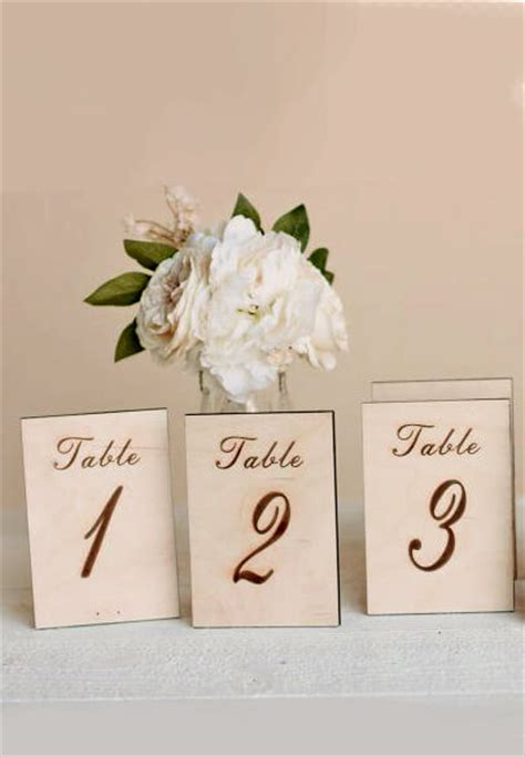 wooden table numbers 1 25 wood table numbers 1 5