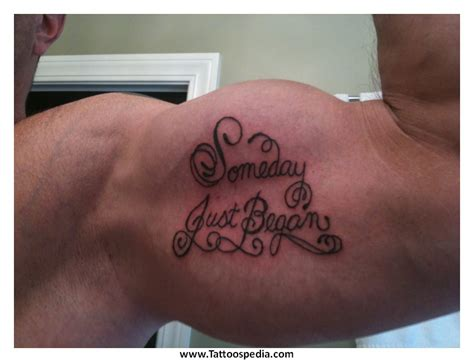 tattoo arm weight loss tony baxter