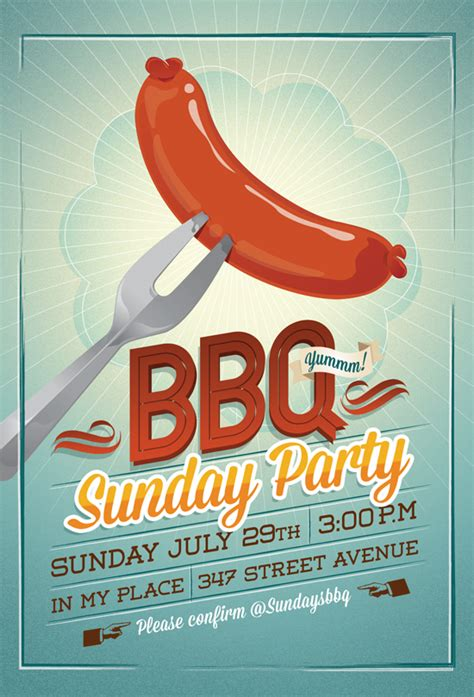 bbq flyer template bbq flyer invitation by hitomodachi on deviantart