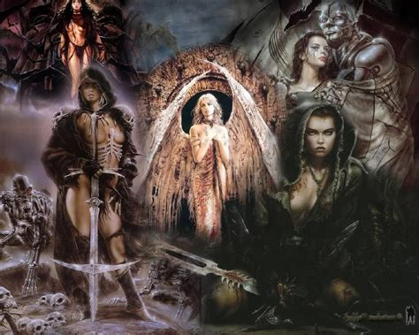 The Foolish Oldman Removed Mountains galer 237 a luis royo la covacha