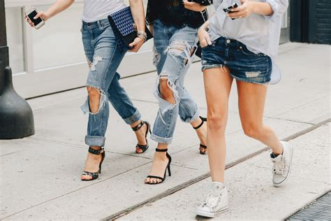 what is the latest in jean fasion in 2015 new york fashion week spring summer 2015 denim street
