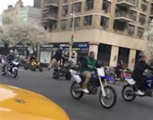 2nd motocross bikes york city was of illegal dirt bike parade