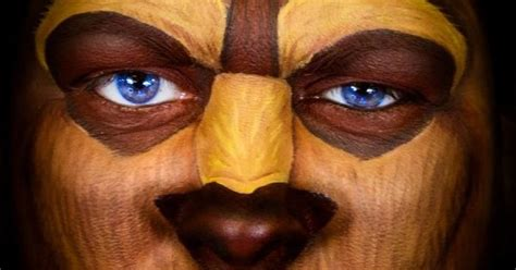 Makeup Makeover And The Beast the beast painting beast paint by carole ferrer disney beautyandthebeast snazaroo