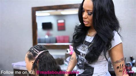 tutorial for vixen sewin 2 part vixen sew in tutorial video black hair information
