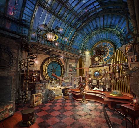 steam punk home decor steunk interior design style and decorating ideas