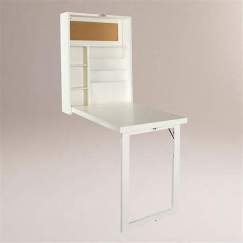 Convertible Desk by White Alden Foldout Convertible Desk