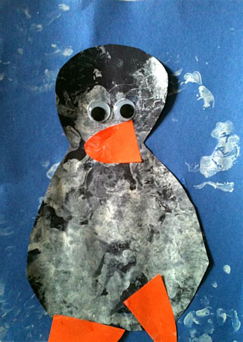 penguin arts and crafts projects simple penguin craft no time for flash cards