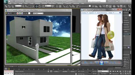 como insertar imagenes sin fondo en autocad insertar personas en renders con 3dsmax youtube