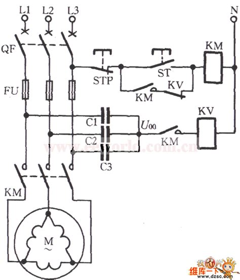 phase failure relay connection diagram wiring diagram