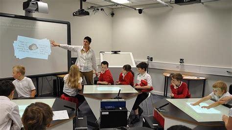 layout de un salon de clases aulas a lo star trek la clase del futuro abc es