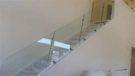 banister clips glass railing capozzoli stairworks