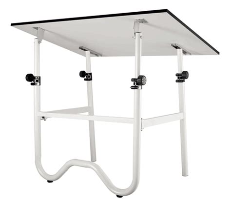Alvin Onyx 30x42 Folding Drafting Table White Top Base Alvin Onyx Drafting Table