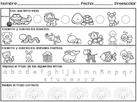 imagenes educativas para preescolar semanario de actividades para preescolar actividades de