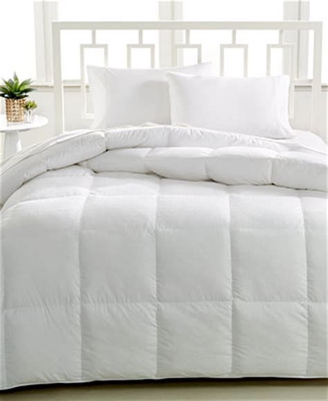 macys down comforter closeout hotel collection luxury down alternative king