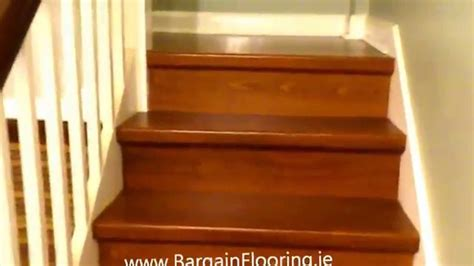 How To Install Laminate Flooring Step By Step by Laminate Stairs Www Bargainflooring Ie How To Install