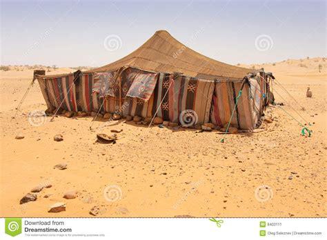 tenda dei beduini accamento deserto immagine stock immagine 8403111