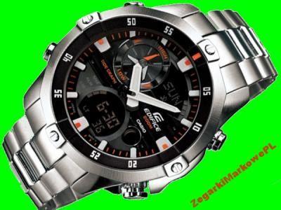 Ema 100d 1a1 wr200 termometr zegarek casio edifice ema 100d 1a1