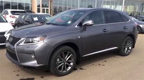 gray lexus rx 350 new grey on black 2015 lexus rx 350 awd f sport review