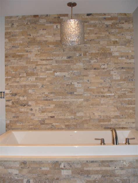 stone bathtub surround stacked stone tub surround actual installations