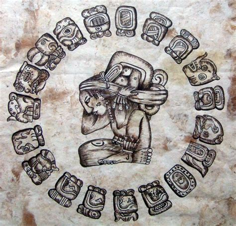 image gallery mayan god time