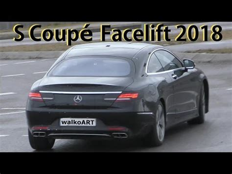 2019 mercedes benz s class coupe facelift shows up in