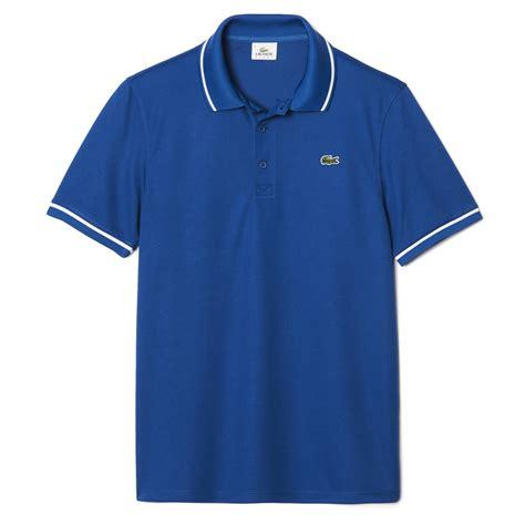 polo sport ori lacoste mens original fit sport polo blue white