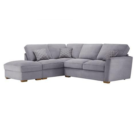 corner sofa with high back nebraska right hand corner sofa with high back in aero silver