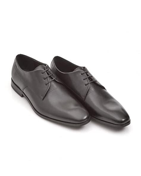 Hugo Square Black hugo hugo mens square derb black lace up derby shoes