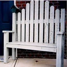 picket fence bench wood fence craft projects fence 6 rustic garden