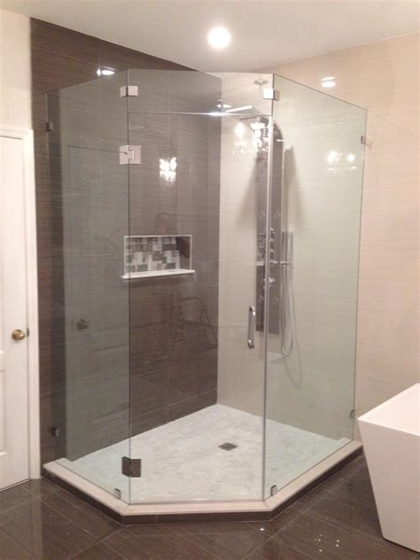 Glass Xpress Home Page Angled Glass Shower Doors