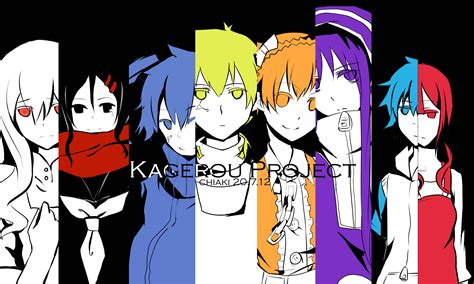 kagerou project vocaloid personajes demonic sweaters