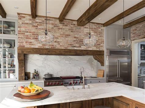 47 Brick Kitchen Design Ideas (Tile, Backsplash & Accent Walls) Designing Idea