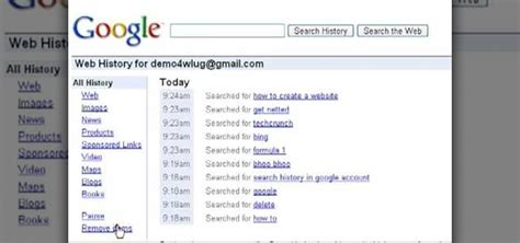 How To Delete Search On How To Delete The Search History From Your Account
