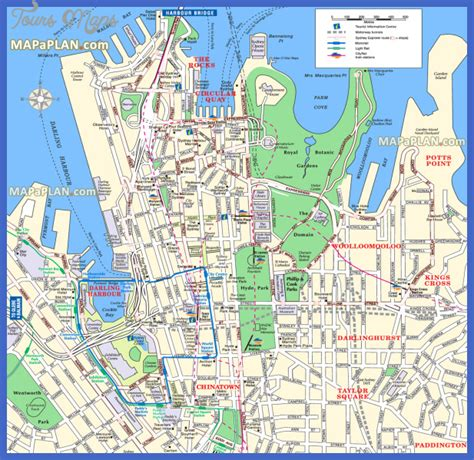 map of tourist attractions 2 sydney map tourist attractions toursmaps