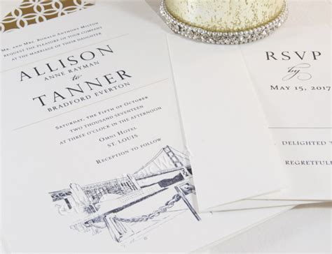 Wedding Invitations San Francisco by San Francisco Skyline Wedding Invitations