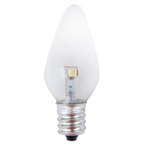 Meridian 7w Equivalent Super Blue Clear C7 Non Dimmable Replacement Light Bulbs