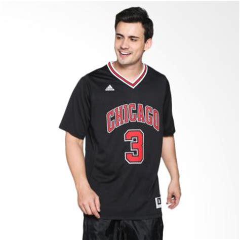 Sepatu Sekolah Hitam Chicago Bulls jual adidas basketball nba chicago bulls wade int swingman hitam jersey basket cc2544