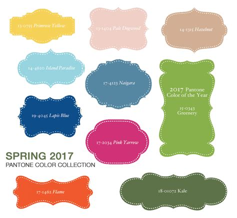 the color of 2017 the easy breezy beautiful 2017 spring trend colors