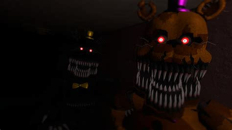 Detox And Nightmares by Nightmare And Nightmare Fredbear By Scatmangu On Deviantart