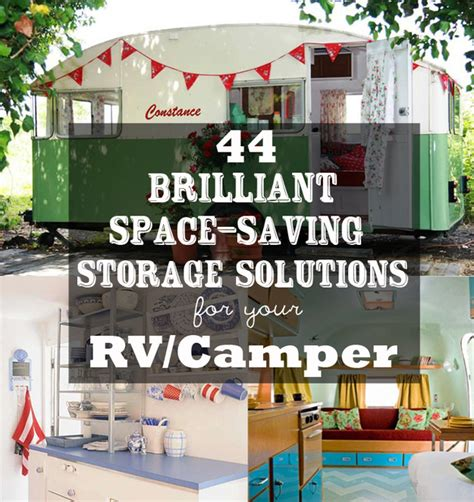 Rv Interior Storage Solutions by 44 Cheap And Easy Ways To Organize Your Rv Cer