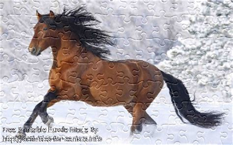 free printable horse jigsaw puzzles free printable jigsaw puzzle horse 1 small large
