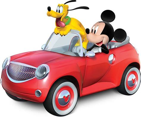 Car Set 8 In 1 Minnie 1 mickey mouse car clipart clipartxtras