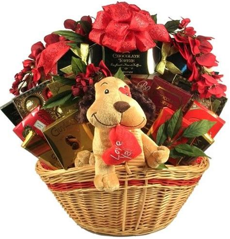 gift baskets for valentines ya deluxe s day gift basket show your