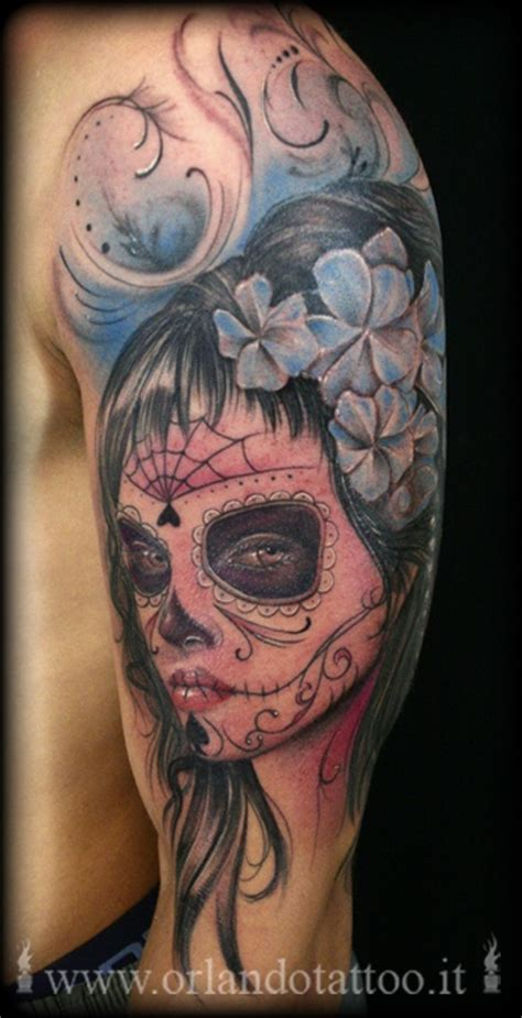 absolute art tattoo 228 best sugar skulls absolute amazing painting images