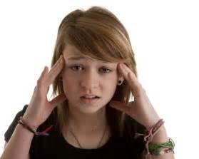 images teenage girl: stressed teenager girl teenager girl stressed headache istockjpg stressed teenager girl