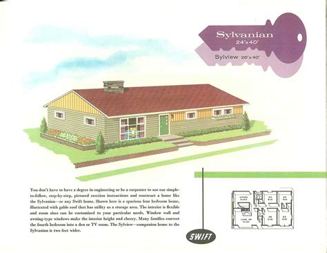 Eichler Style House Plans by 1960s Ranch House Plans Escortsea