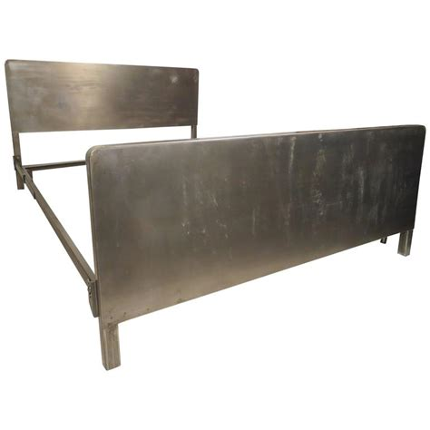 Metal Frame Beds For Sale Vintage Size Metal Bed Frame For Sale At 1stdibs