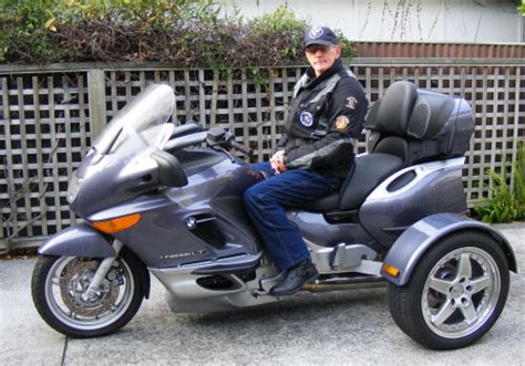 Dreirad Motorrad Bmw by Motorcycle Trike Picture Of A 2000 Bmw K1200lt Trike