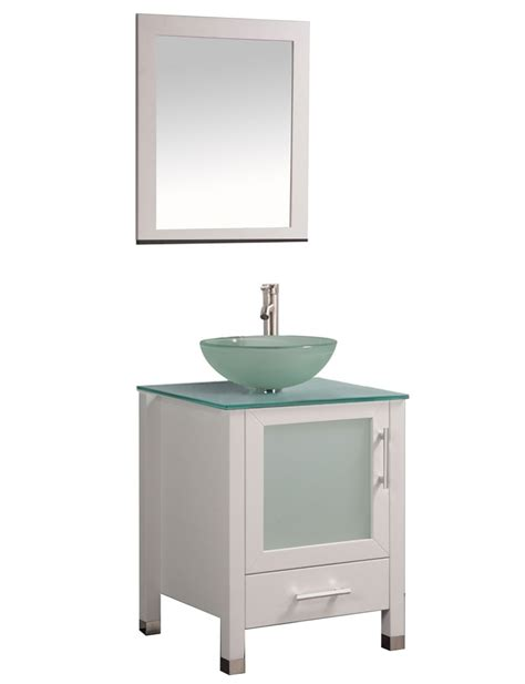 24 inch bathroom vanity with sink acuba 24 inch single sink modern bathroom vanity set white