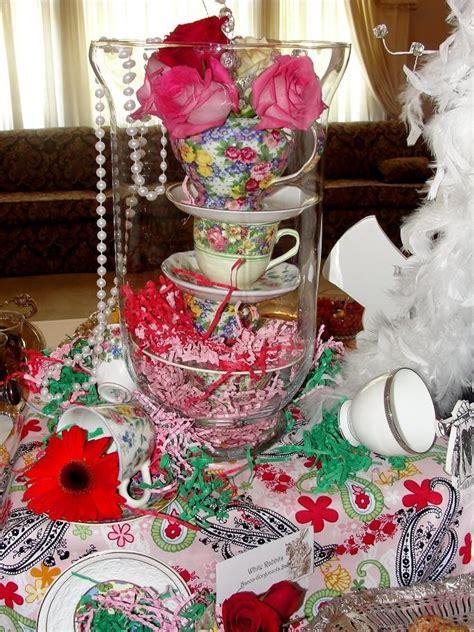 Teacup Centerpiece Aliceinwonderland Mad Hatter Tea Mad Hatter Centerpieces